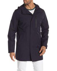 Michael Kors - Bellview Hooded Raincoat - Lyst