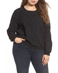 REBEL WILSON X ANGELS - Embroidered Georgette Top - Lyst