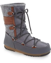 Tecnica - Vienna Waterproof Moon Boot(r) (women) - Lyst