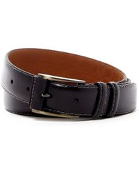 Boconi - Wrap Buckle Textured Leather Belt - Lyst