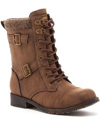 Rocket Dog - Billie Lace-up Boot - Lyst