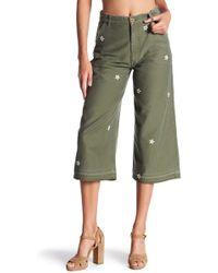 Siwy - Loretta Flower Stitch Pants - Lyst