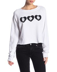 Wildfox - Call Me Boo Monte Crop - Lyst