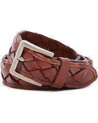Tommy Bahama - Braided Leather Belt - Lyst