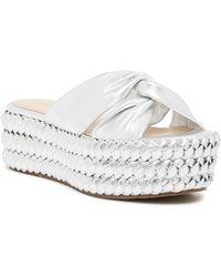 Rachel Zoe - Polly Twisted Flatform Sandal - Lyst
