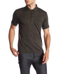 Billy Reid - Smith Short Sleeve Slim Fit Polo - Lyst