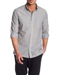 William Rast - Bo Chambray Regular Fit Button Down Shirt - Lyst