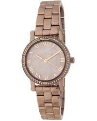 Michael Kors - Women's Petite Noire Bracelet Watch - Lyst