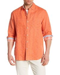 Tommy Bahama - Long Sleeve Button Up Shirt - Lyst