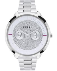 Furla - Women's Metropolis Crystal Embellished Bracelet Watch, 38mm - Lyst