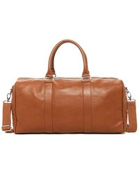 Cole Haan - Leather Duffle Bag - Lyst