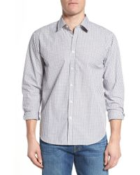 Jeremy Argyle Nyc - Fitted Check Sport Shirt - Lyst