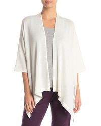 Natori - Open Front Knit Cardigan - Lyst