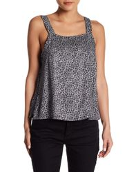RVCA - Ayles Rose Patterned Tank - Lyst