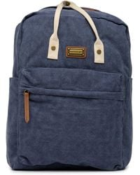 Madden Girl - Mineral Wash Square Backpack - Lyst