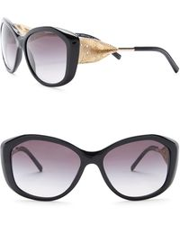 Burberry - Women's 57mm Oversized Sunglasses - Lyst