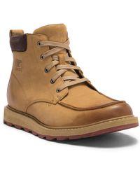 Sorel - Madson Moc Toe Waterproof Leather Chelsea Boot - Lyst