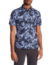 Jack Spade - Clift Tropical Print Short Sleeve Shirt - Lyst
