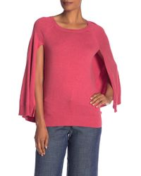 Trina Turk - Fern Dell Long Sleeve Knit Sweater - Lyst