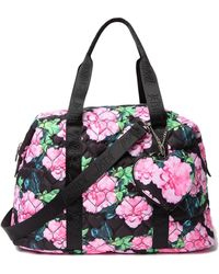 Betsey Johnson - Quilted Nylon Weekend Bag - Lyst