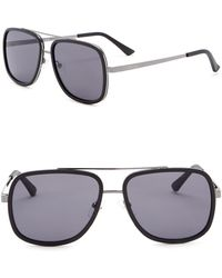 Kenneth Cole Reaction - 57mm Navigator Sunglasses - Lyst
