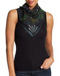 Rag & Bone - Floral Dagger Print Silk Scarf - Lyst