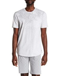 Civil Society - Ombre Printed Chest Pocket Tee - Lyst