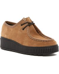 Shellys London - Kyra Creeper Suede Platform Sneaker - Lyst