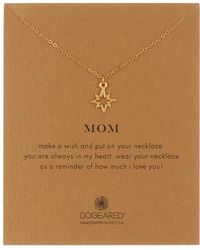Dogeared - Mom Open North Star Pendant Necklace - Lyst