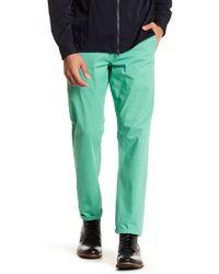 "Dockers - Alpha Light Green Slim Tapered Khakis - 29-34"" Inseam - Lyst"