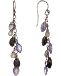 Chan Luu - Multicolor Crystal Drop Earrings - Lyst