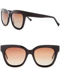 William Rast - Women's 55mm Polarized Square Sunglasses - Lyst