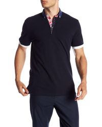 Maceoo - Button Down Collar Polo - Lyst