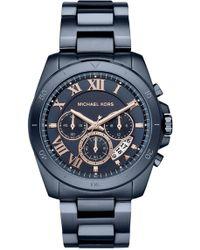 MICHAEL Michael Kors - Brecken Chronograph Watch, 44mm - Lyst