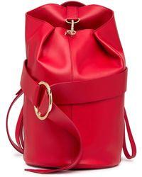 Liebeskind Berlin - Medium Convertible Nappa Leather Shoulder Bag - Lyst