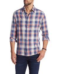 Grayers - Spencer Summer Slub Twill Modern Fit Shirt - Lyst