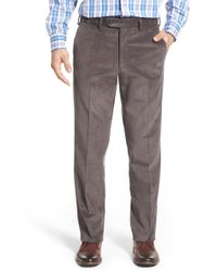 JB Britches - J.b. Britches Flat Front Corduroy Trousers - Lyst
