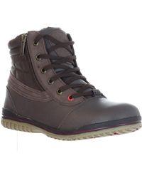 Pajar - Paramili Waterproof Faux Shearling Lined Boot - Lyst
