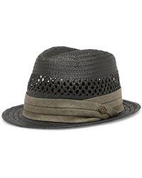 Lyst - Goorin Bros Boogie Fedora Hat in Blue for Men 901e07e48cd2