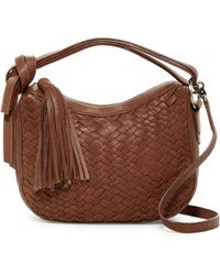 Treesje - Sophie Mini Leather Hobo Bag - Lyst