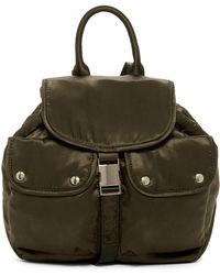 Steve Madden - Jax Satin Medium Backpack - Lyst