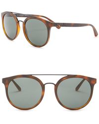 Burberry - 53mm Round Acoustic Sunglasses - Lyst