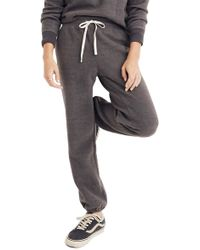 Madewell - Fleece Pajama Sweatpants - Lyst