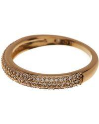Nadri - Pave Cz Thin Band Ring - Size 8 - Lyst