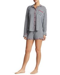 Pj Salvage - Rock N Rose Pajama Shorts - Lyst