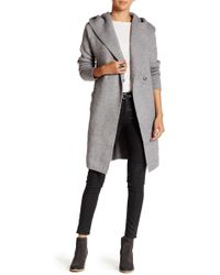 Love Token - Long Sleeve Hooded Cardigan - Lyst