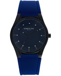 Kenneth Cole - Men's Silicone Watch, 44mm - Lyst