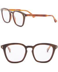 b5febce2ec Lyst - Gucci 53mm Clubmaster Sunglasses for Men
