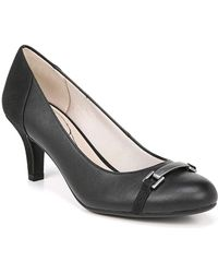 LifeStride - Patricia Snake Embossed Pump - Wide Width Available - Lyst