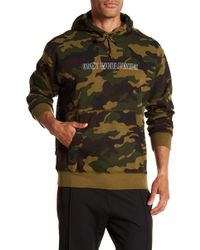 Obey - Automatic Logo Camo Hoodie - Lyst